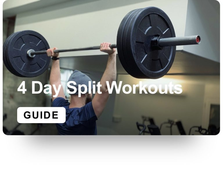 4 Day Split Workouts Guide