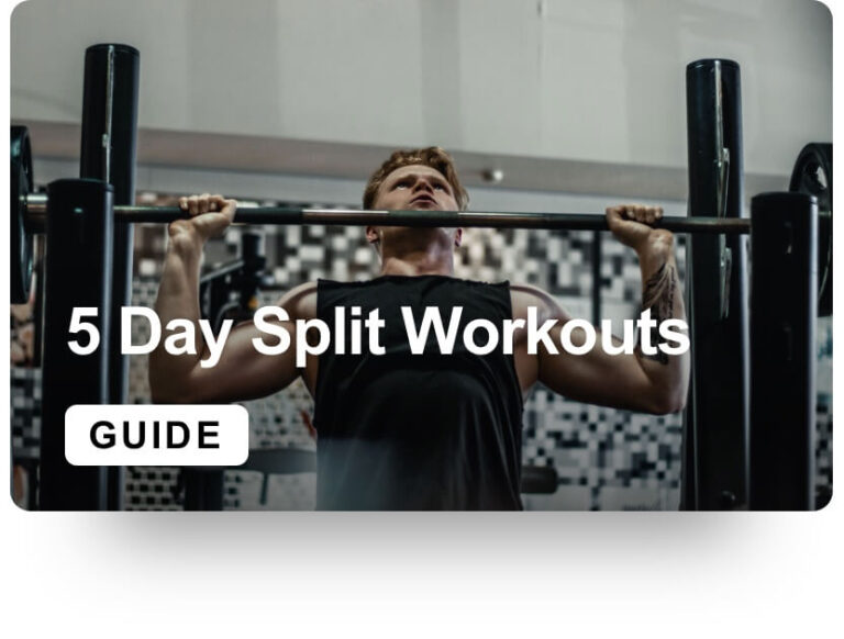5 day workout split complete guide