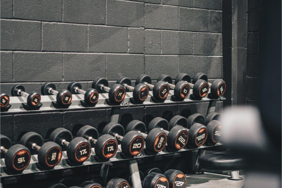Dumbbell Gym Rack