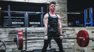 man deadlift legs workout