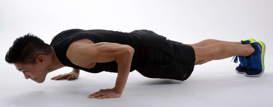man push up full body workout