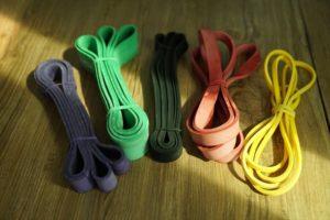 coloured Resistance Bands