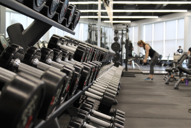 weights dumbbells gym